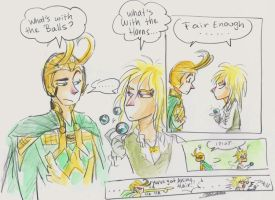Loki Meet's Jareth by oasiswinds
