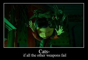 Coraline Cats by Thedragonoflife