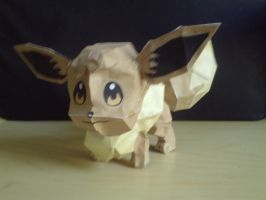 Eevee by SpottyBulboid