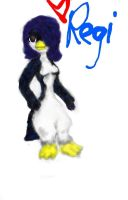 Regi Penguin coloured by phoenixdoll