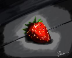 i LOVE strawberries! by tommyilvagabondo
