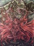 RED DRAGON'S KING by sauronthegreateye