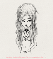 Sketch of a girl '11 by beyourpet