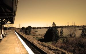 Warabrook Station by redp1004