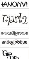 Font names ambigrams by dtw42