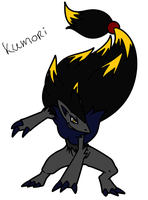 intoducing new OC 'Kumori' by Kuro-No-Yuki