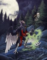 Vulture Necromancer by saeto15