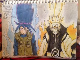 Naruto And Hinata. Manga - 615 by charswarrenxo