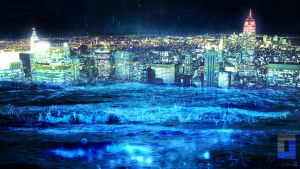 New-York under the water ! by Teiik0