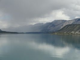 Lake and Mountains 1 by FallingWithoutStyle