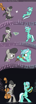 The Notes They Don't Play by SubjectNumber2394