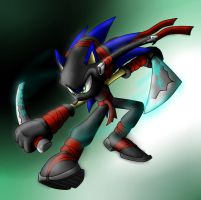 Ninja Sonic by Sweecrue