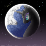 Nightmare Moon - Mare in the moon by Balleman