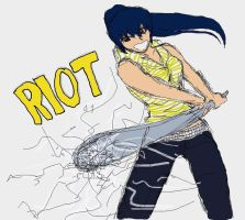 Riot Girl by CatgirlKitsune