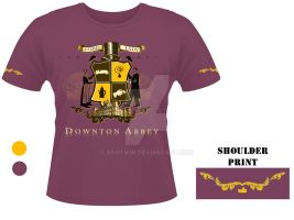 Downton Abbey T-Shirt Design by AshTwin