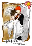 Ron and Hermione Newlyweds by nelsonaof