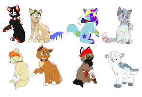 Some refs by nikkithedog3