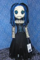 Goth Girl Rag Doll bb by Zosomoto