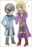 Alois and Ciel chibi by Ischagoras