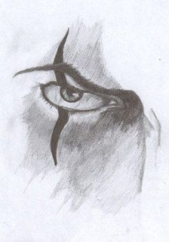 Crow eye by The-Murder-of-Crows