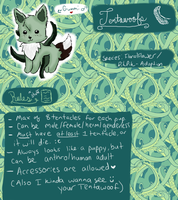 ~Open Species Info~ Tentawoof by PikPik-Adoption
