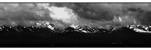 Anchorage BW Panoramic by AstroBrandt