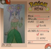 Poke-Village Application: Jasmina by Rock-Leigh