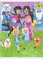 Adventure Time by DBJay