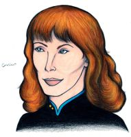 Dr. Beverly Crusher by harrimaniac27