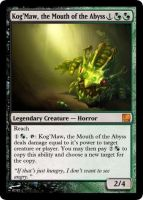 KogMaw the Mouth of the Abyss by Swend