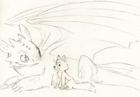 Todd and Toothless by Dogmaniac