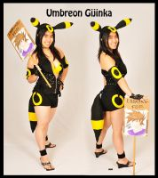 Umbreon Gijinka by LiliNeko