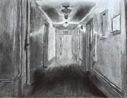 Charcoal Old Dorm by dthlnc