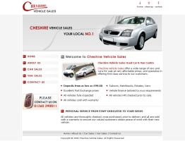 Cheshire Vehicle Sales by WebRules
