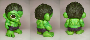 HULK SMASH MUNNY... details by Flame-Ivy