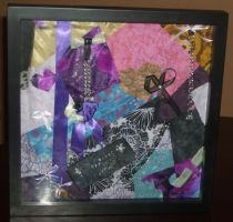 Large Shadow Box Wall Hanging by DKayCrafts