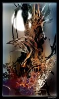 wasted dreams tree by perihelio