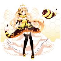 BBPP Bumblebee Queen Auction[Closed] by Maruuki