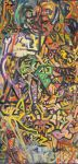 Abstract Painting 3 Jan 2015 by Timdockrill