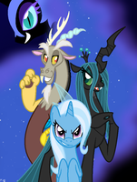 MLP-Double Trouble by Faith-Wolff