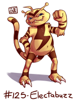 125 - Electabuzz by Electrical-Socket