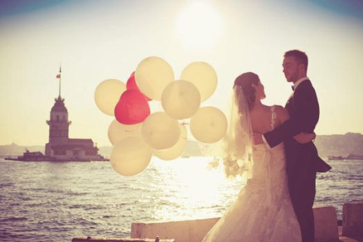 wedding in istanbul by khzstock