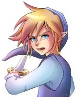 Blue Link Kiriban by Ask-ShadowLink