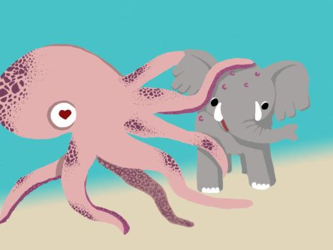 Octopus Love by Ate-CD