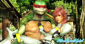 Raph and Lightning - My Hero by SilverMoonCrystal