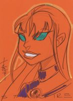 Starfire by Tom Hodges by danmartin26