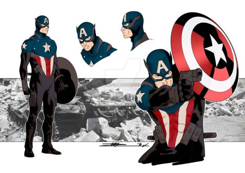 Captain America Bucky (Kris Anka design) by Hiroim