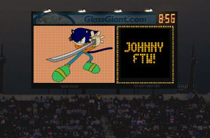 johnny jumbotron by bluehedghog