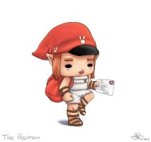 Chibi The Postman by capsicum