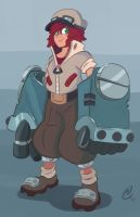 Amelia Iron Hands McGee by MattCarberry